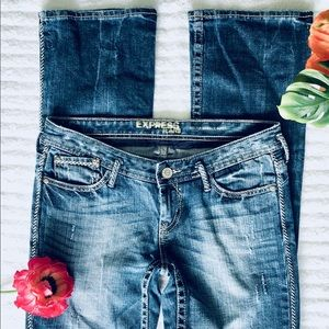 Express Women's Jeans Bootcut Size 4R